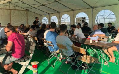 Hoffest-Planung bei 30 Grad plus