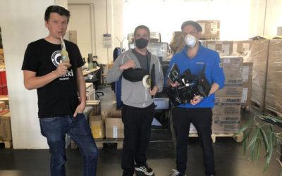 Dreharbeiten für Imagefilm Steglitz-Zehlendorf
