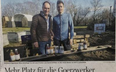 Besuch von der Berliner Morgenpost