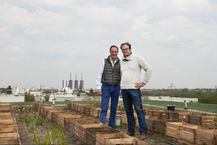 Urban Farming hoch über Lichterfelde