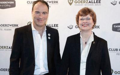 Festakt zur Gründung des Vereins Goerzallee e.V.