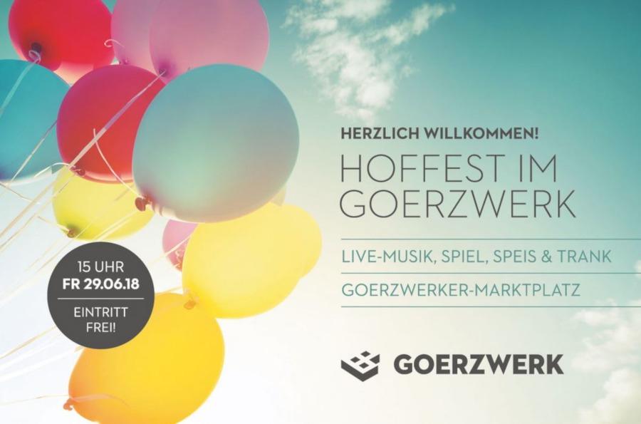 Goerzwerke Hoffest mit Kreativmarkt