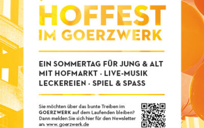 Save the date – Hoffest am 21. August 2021