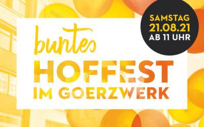 Hoffest am 21. august 2021