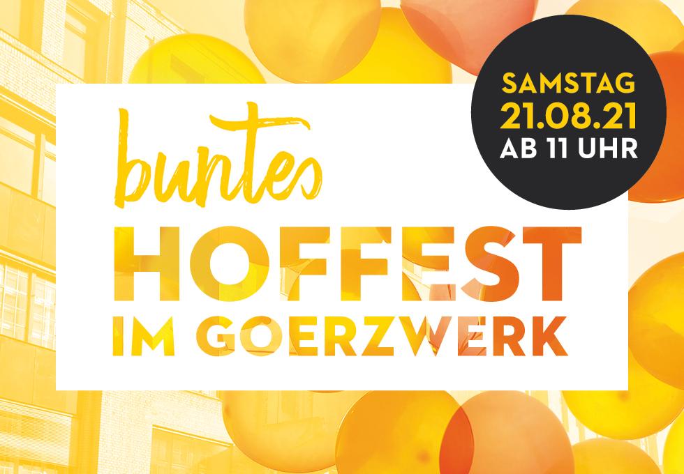 Hoffest im Goerzwerk 2021