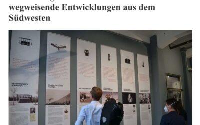 Lobendes Presse-Echo auf unsere Ausstellung